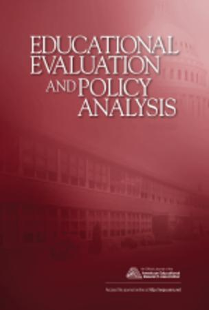 Educational Evaluation and Policy Analysis template (SAGE)
