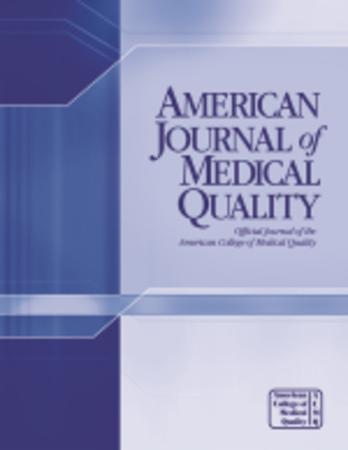 American Journal of Medical Quality template (SAGE)