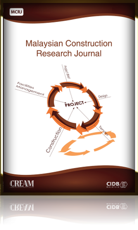 Malaysian Construction Research Journal (MCRJ) template (Construction Research Institute of Malaysia (CREAM))