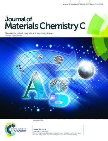 Journal of Materials Chemistry C template (Royal Society of Chemistry)