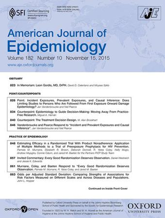 American Journal of Epidemiology template (Oxford University Press)
