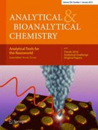 Analytical and Bioanalytical Chemistry template (Springer)