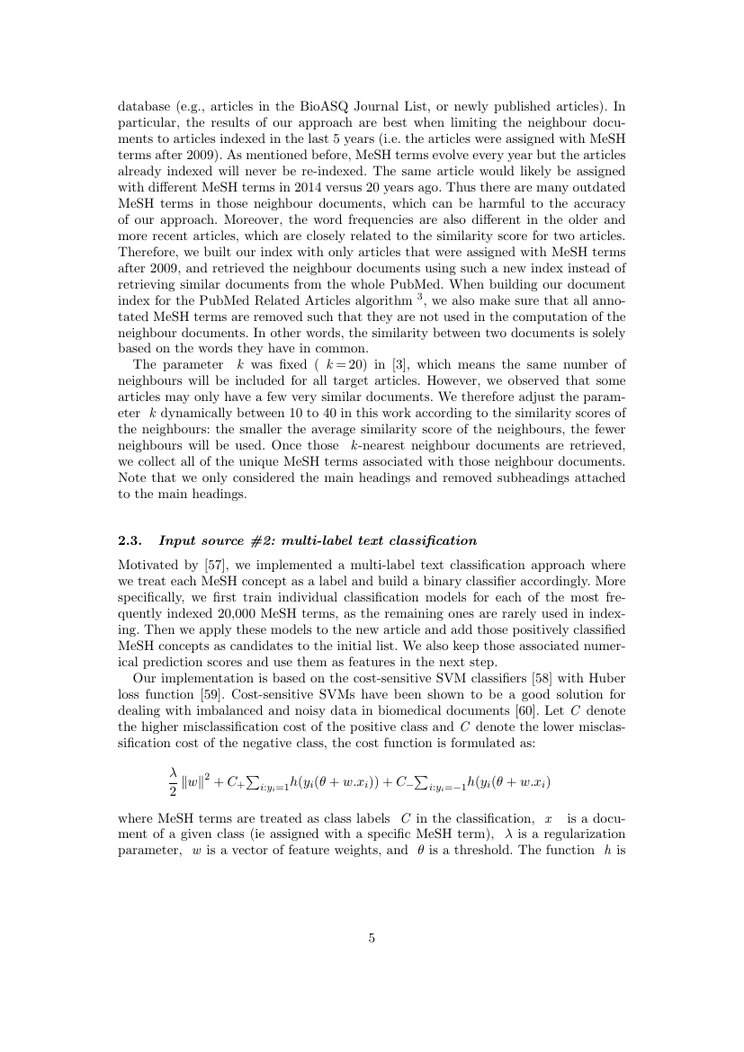 Example of Journal of Experimental Nanoscience format