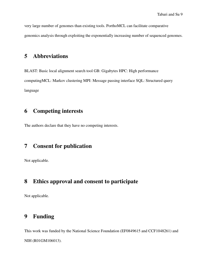 Example of Biosciences - BBSRC London Interdisciplinary Biosciences PhD Consortium (Assignment/Report) format