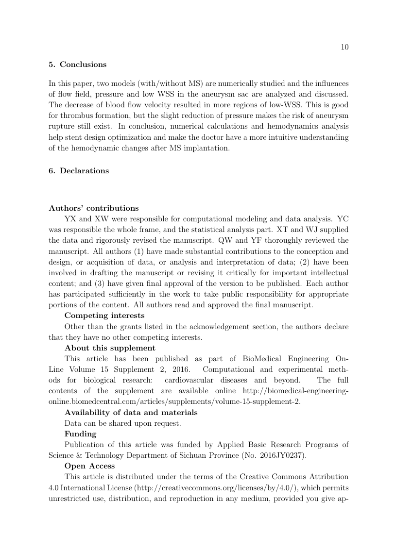 Example of Journal of Physics A: Mathematical and Theoretical format