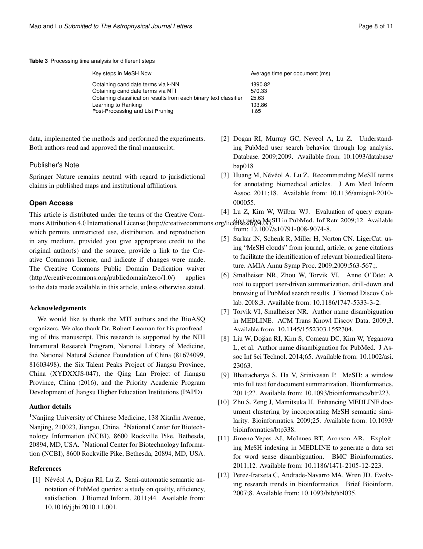 Example of Binary Journal of Data Mining & Networking format