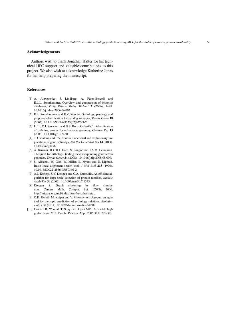 Example of Journal of Climate Change format