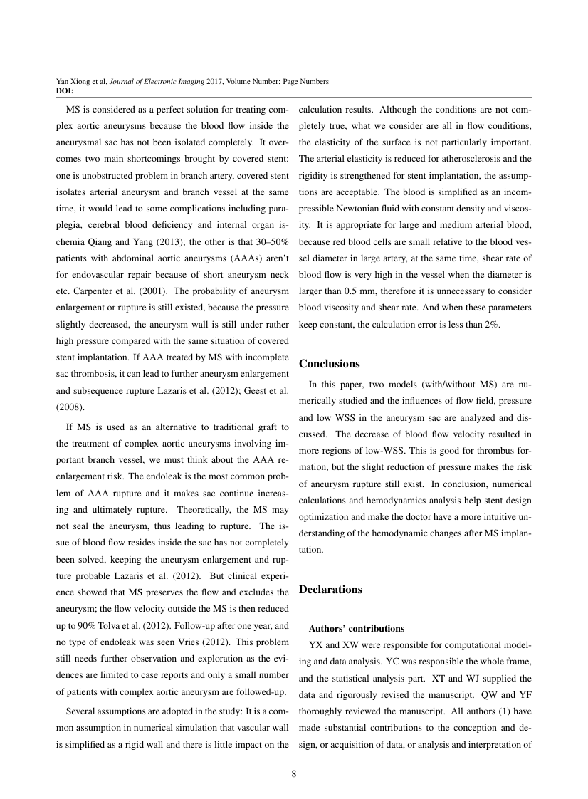 Example of American Journal of Environmental Sciences format