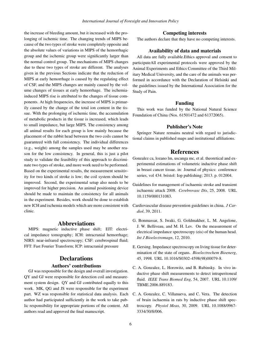 Example of Research Journal of Information Technology format