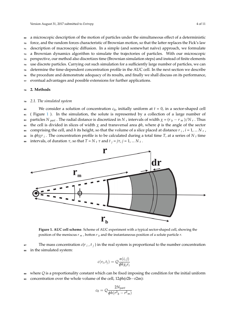 Example of Aerospace format