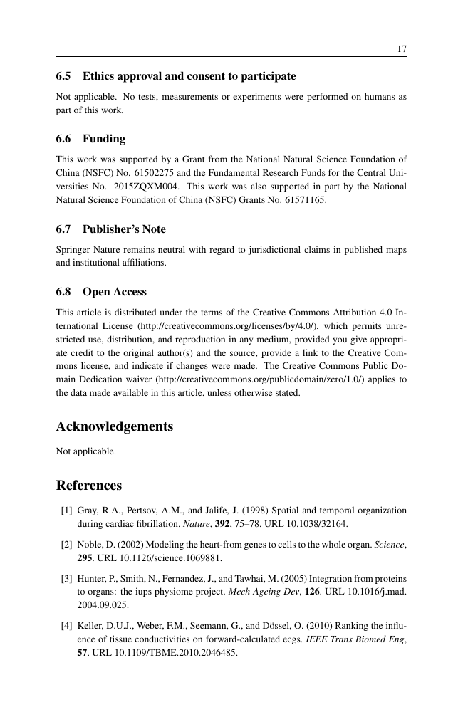 Example of Australian Veterinary Journal format