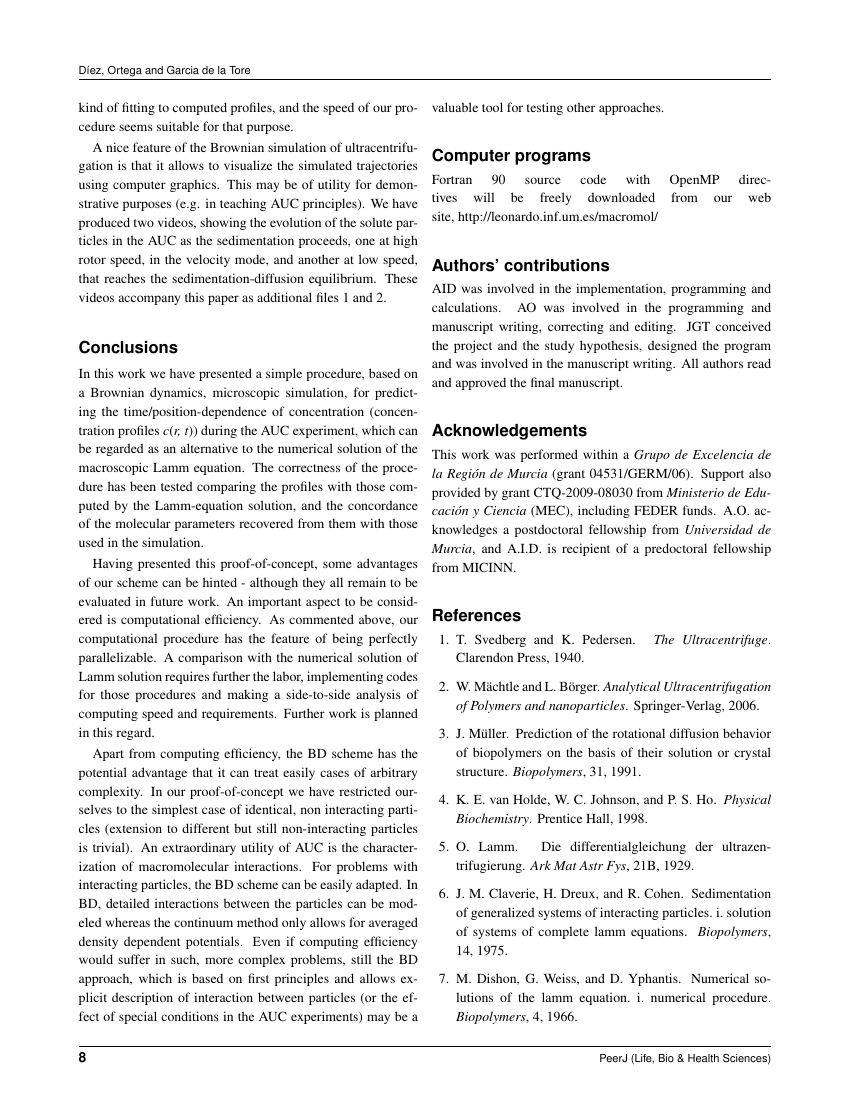 Example of Advances and Applications in Bioinformatics and Chemistry format