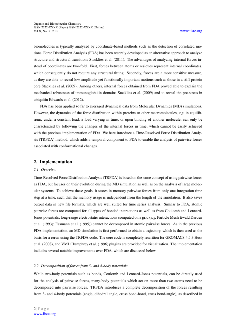 Example of Journal of Environment and Earth Science format