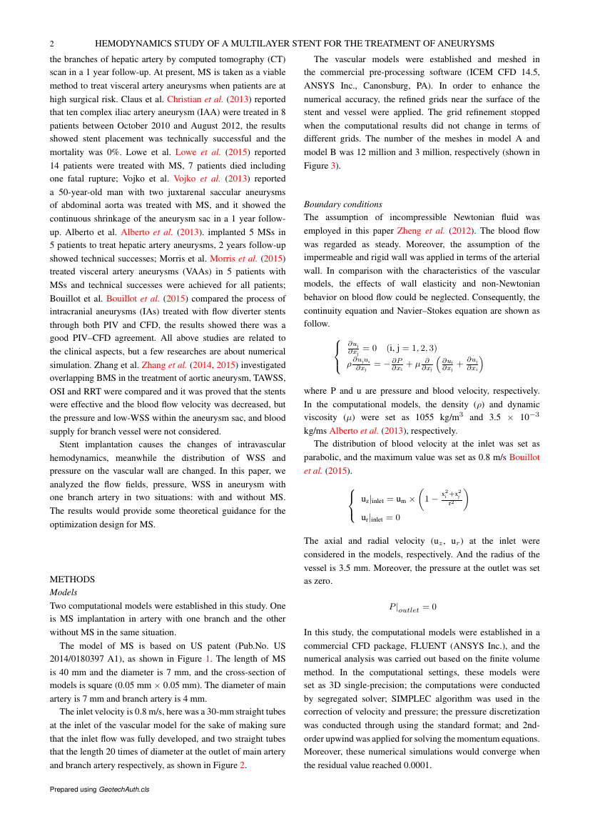 Example of Selected Engineering Papers format