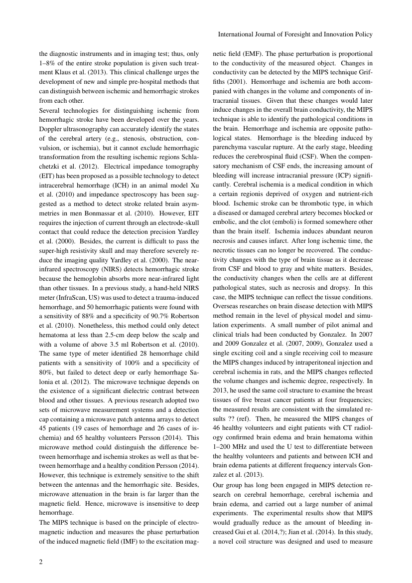 Example of International Journal of Sociology Study format