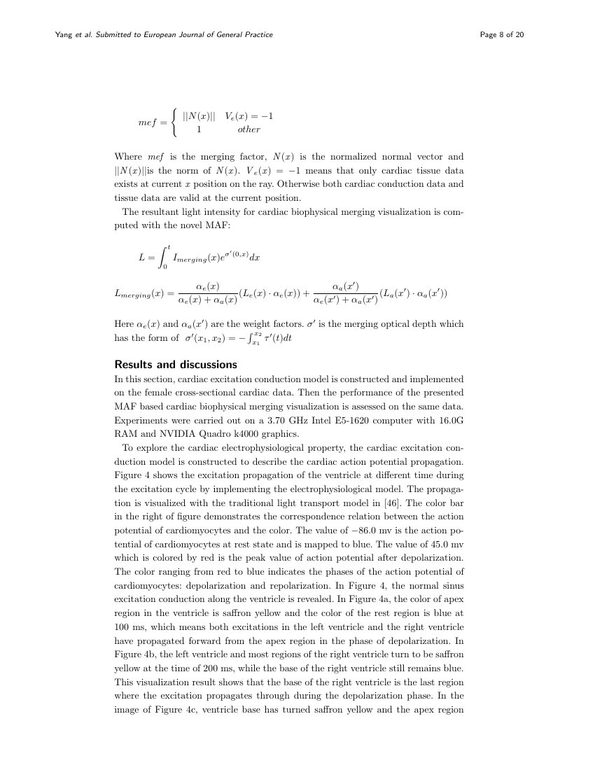 Example of Algorithms for Molecular Biology - short report format