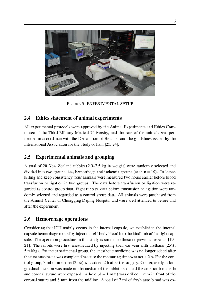 Example of Journal of Clinical Apheresis format