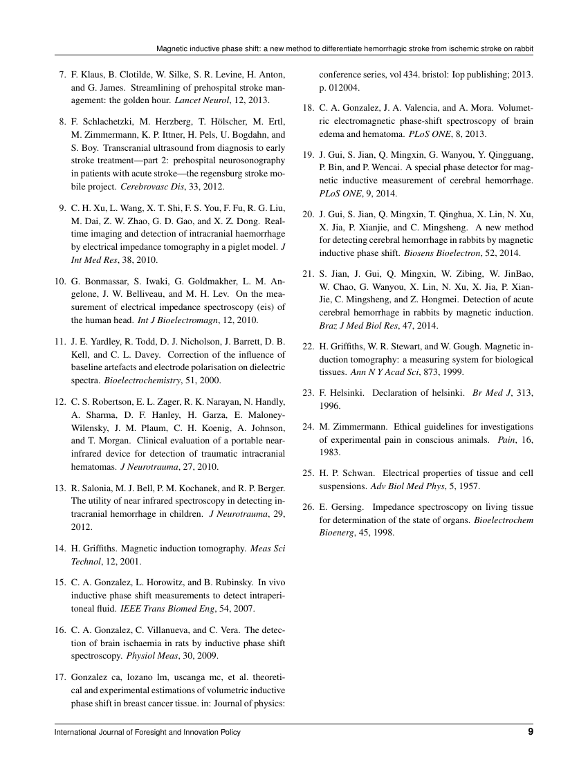 Example of Chinese Medical Journal  format