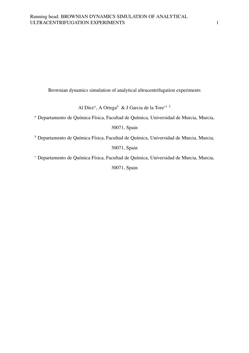 Example of Master of Public Administration (Assignment/Report) format