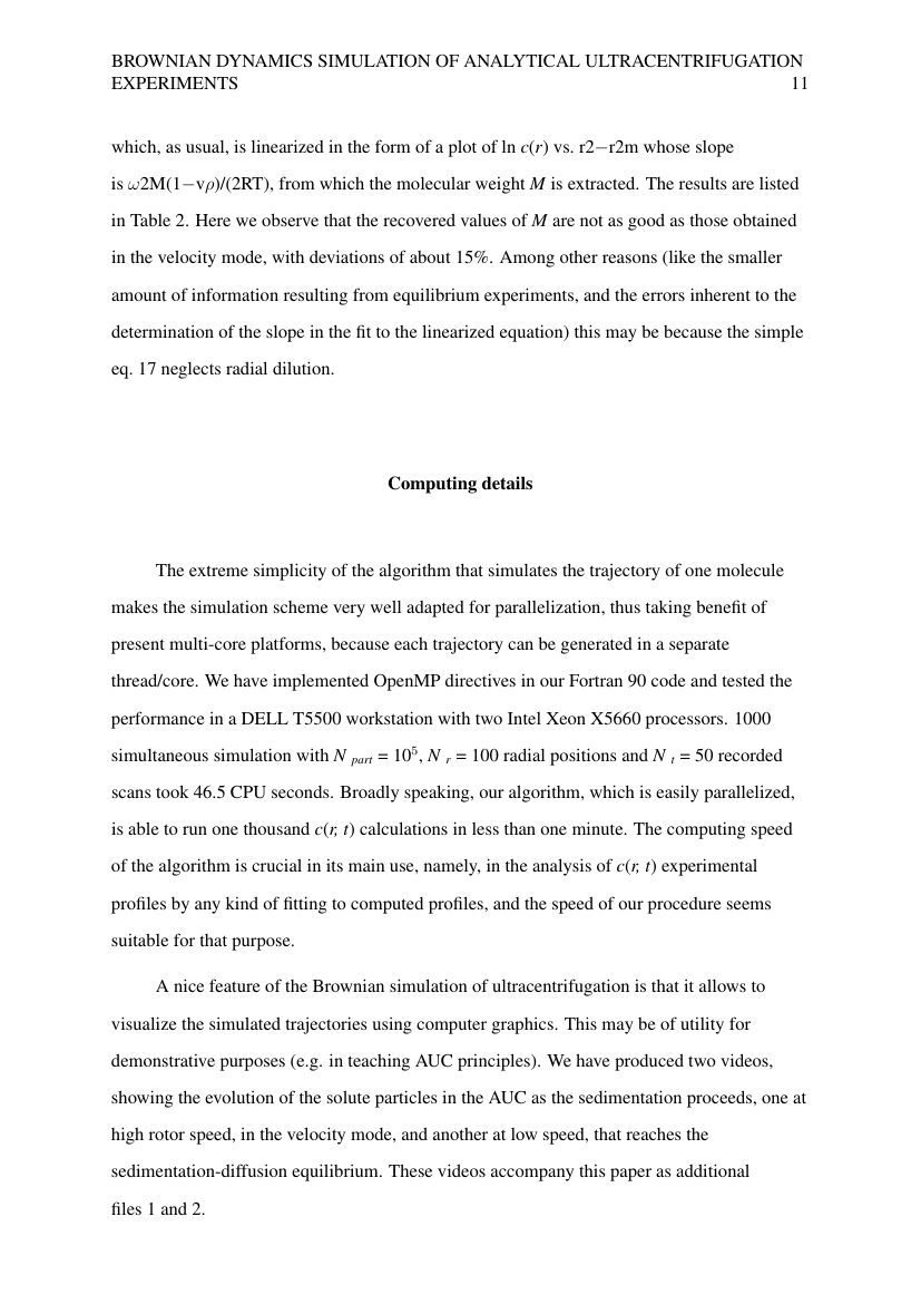 Example of Master of Creative Writing (Assignment/Report) format