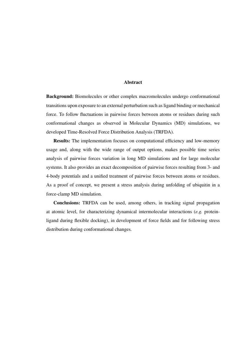 Example of Template for VIT Thesis format