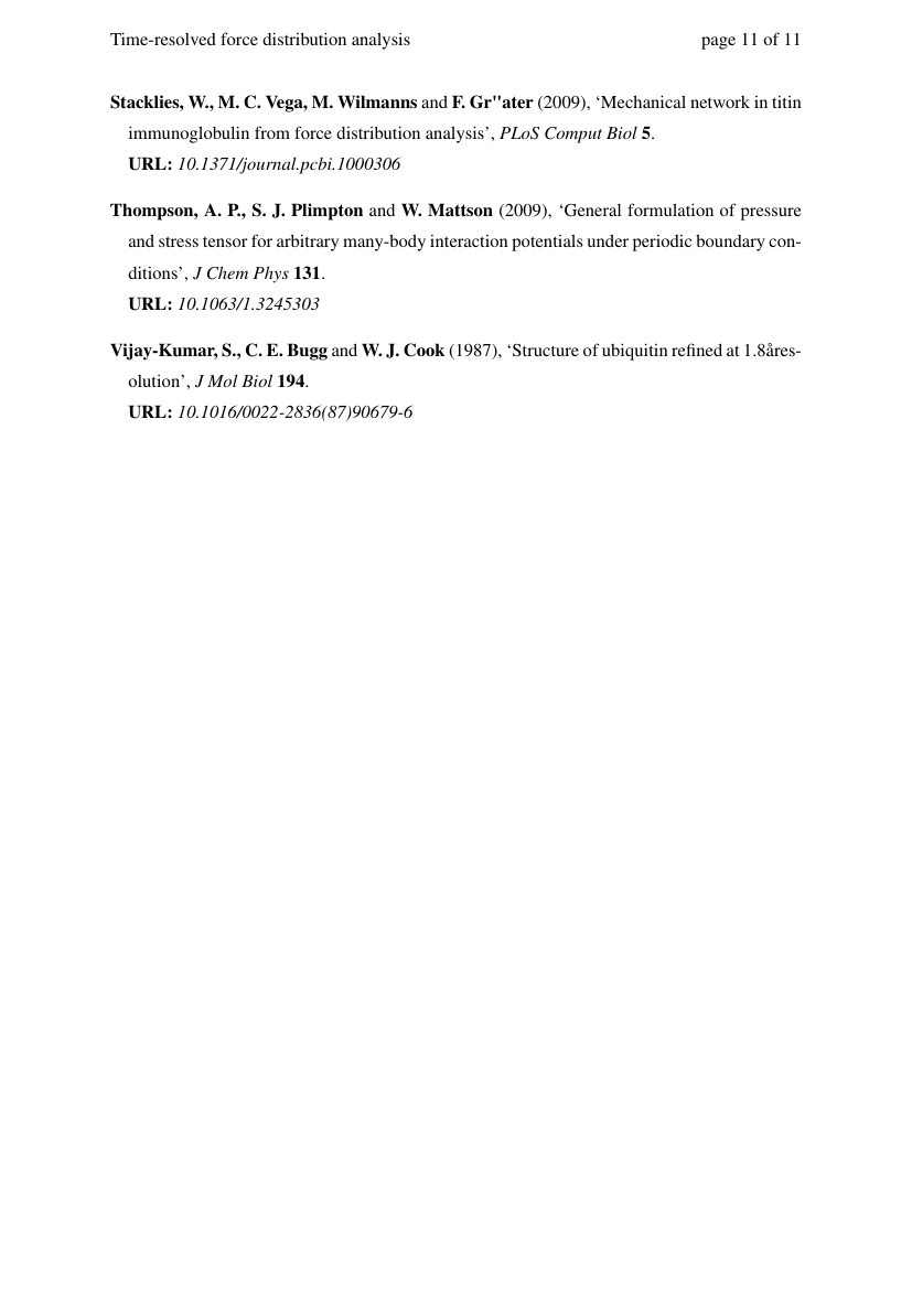 Example of Stability: International Journal of Security and Development format