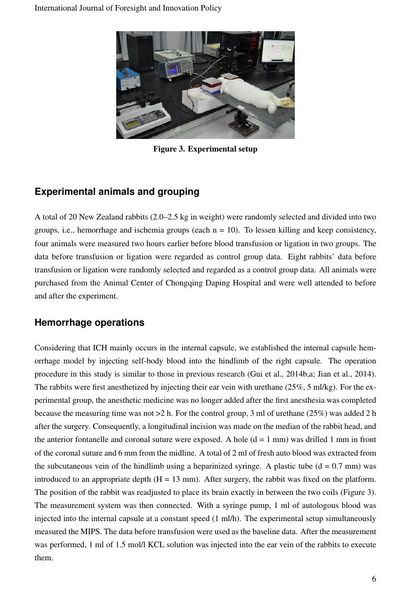 Example of International Journal of Strategic Engineering (IJOSE) format