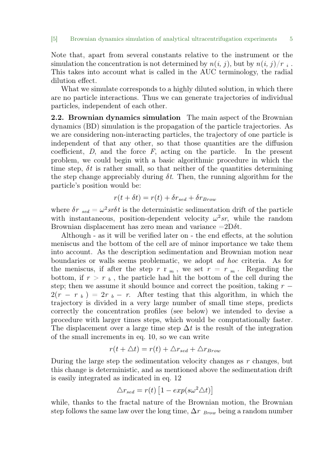 Example of Hegel Bulletin format