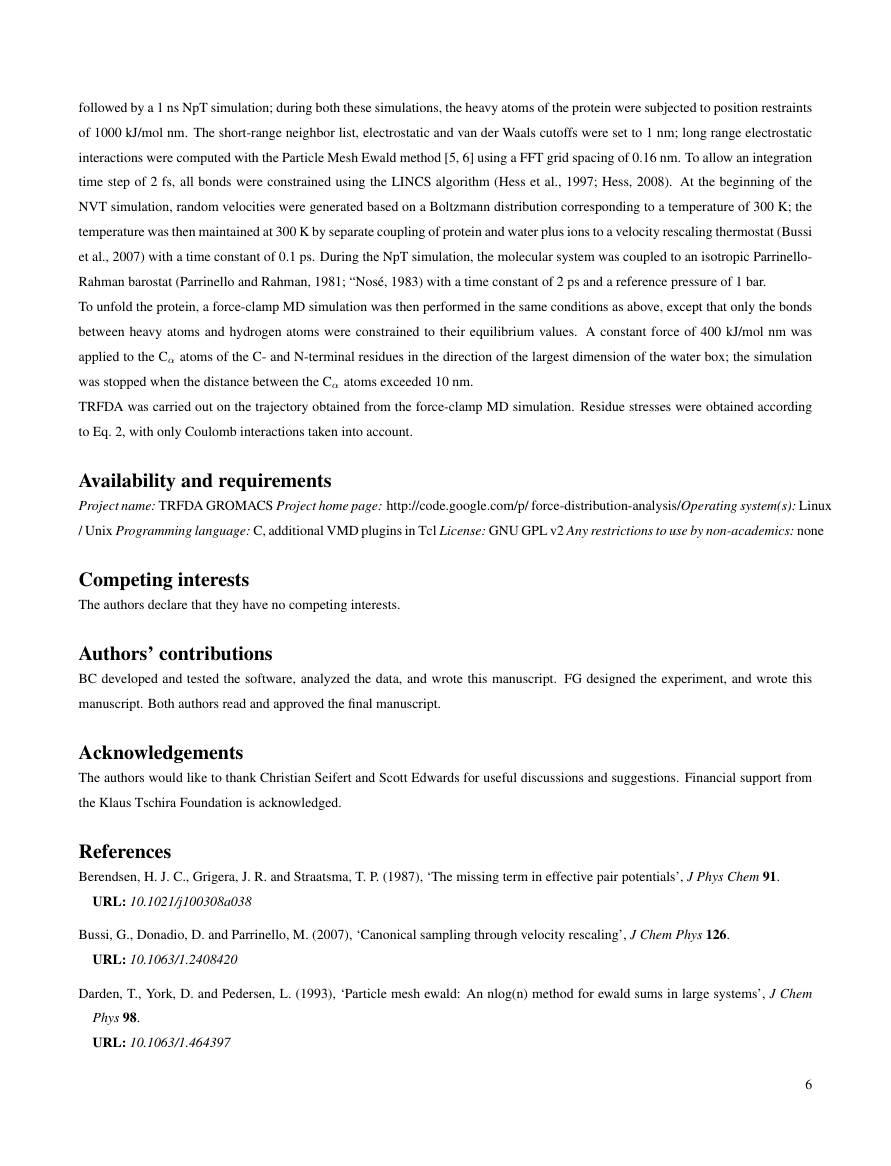 Example of Journal of Cell Science format