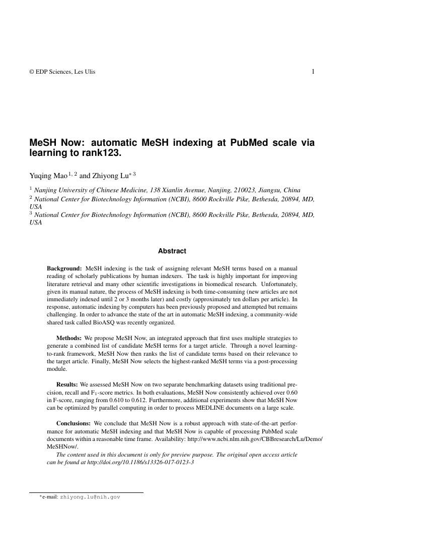Example of International Journal of Metrology and Quality Engineering format