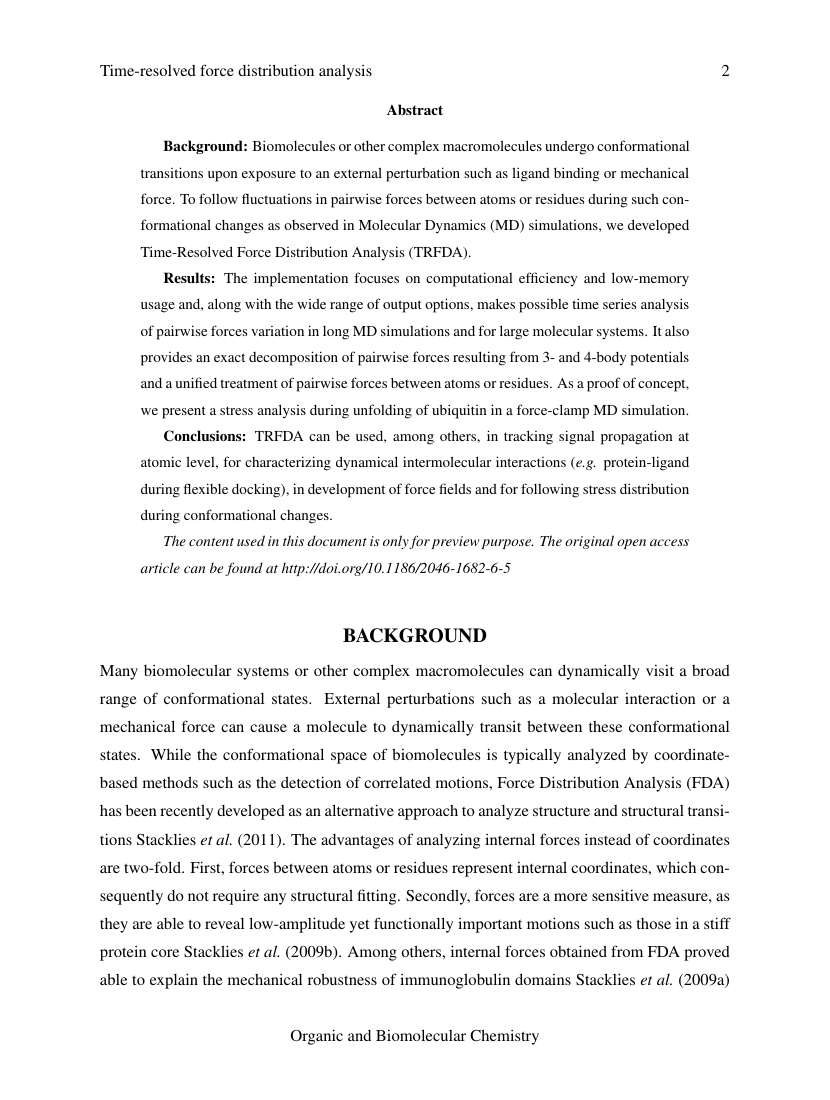Example of Academy of Management Journal format