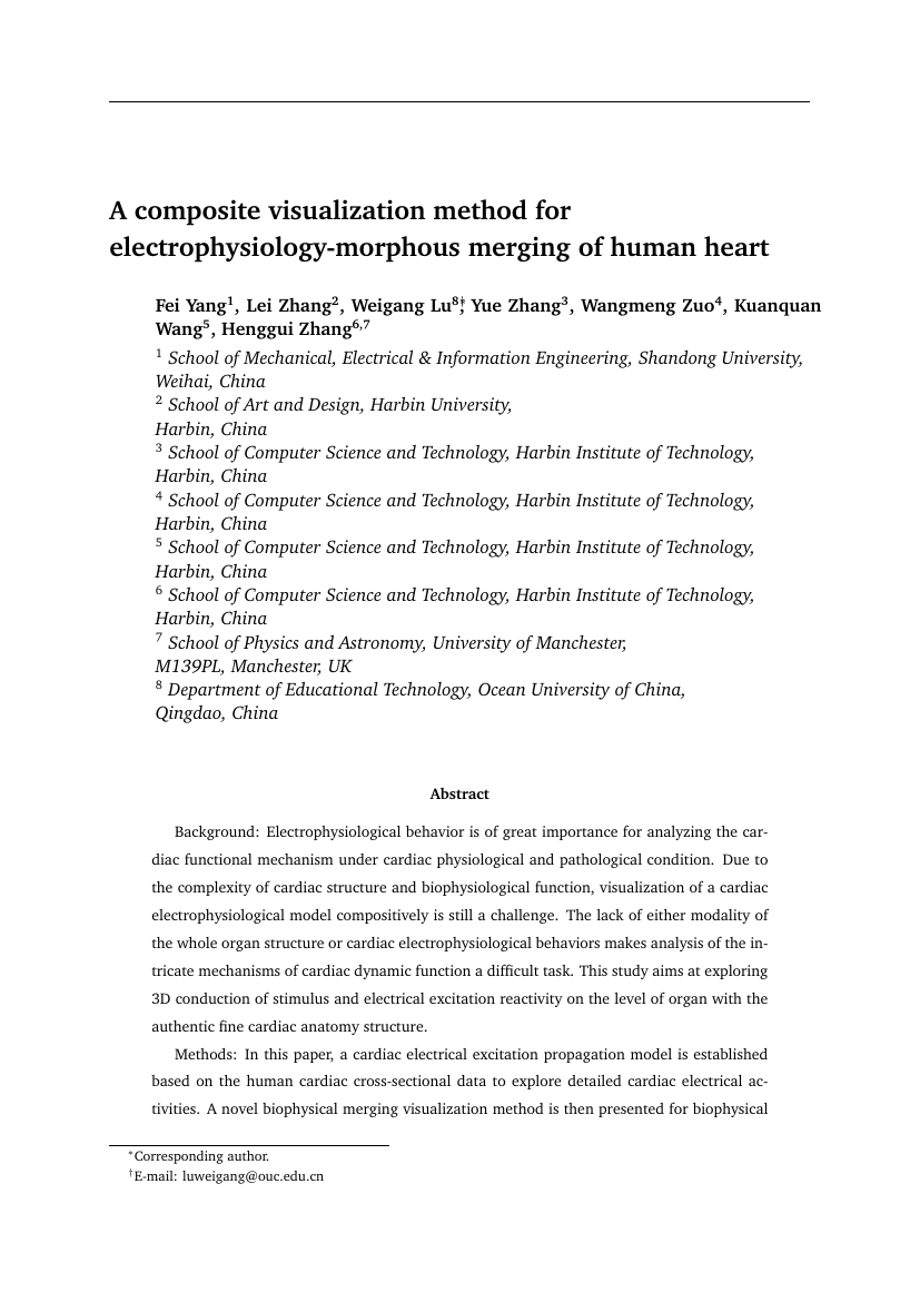 Example of Human-Centered Computing (Assignment/Report) format