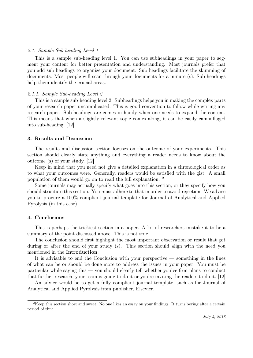 An Essay On Man Sparknotes  Example Of Journal Of Analytical And Applied Pyrolysis Format  Important Of Education Essay also Human Cloning Persuasive Essay Elsevier  Journal Of Analytical And Applied Pyrolysis Template Respect Essay